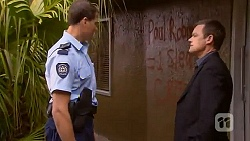 Matt Turner, Paul Robinson in Neighbours Episode 6574