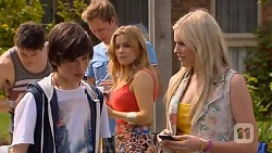 Chris Pappas, Bailey Turner, Andrew Robinson, Natasha Williams, Amber Turner in Neighbours Episode 6574