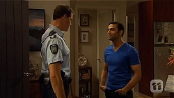 Matt Turner, Ajay Kapoor in Neighbours Episode 6575