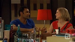 Ajay Kapoor, Phillipa Curtis in Neighbours Episode 6575