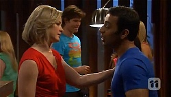 Phillipa Curtis, Ajay Kapoor in Neighbours Episode 6575
