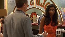 Paul Robinson, Priya Kapoor in Neighbours Episode 6576