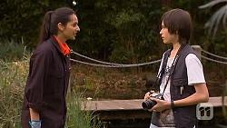 Rani Kapoor, Bailey Turner in Neighbours Episode 6576