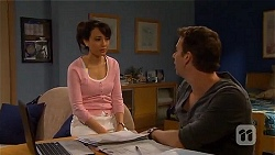 Vanessa Villante, Lucas Fitzgerald in Neighbours Episode 6577