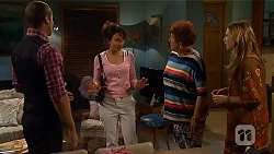 Toadie Rebecchi, Vanessa Villante, Angie Rebecchi, Sonya Mitchell in Neighbours Episode 6577