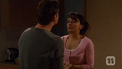 Lucas Fitzgerald, Vanessa Villante in Neighbours Episode 6578