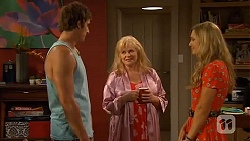 Kyle Canning, Sheila Canning, Georgia Brooks in Neighbours Episode 6578