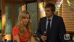 Georgia Brooks, Kyle Canning in Neighbours Episode 6578