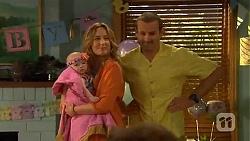 Nell Rebecchi, Sonya Rebecchi, Toadie Rebecchi in Neighbours Episode 6578
