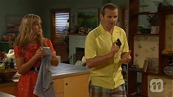 Georgia Brooks, Toadie Rebecchi in Neighbours Episode 6578