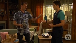 Lucas Fitzgerald, Chris Pappas in Neighbours Episode 6579