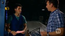 Chris Pappas, Lucas Fitzgerald in Neighbours Episode 6579