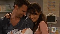 Lucas Fitzgerald, Patrick Villante, Vanessa Villante in Neighbours Episode 6579