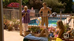 Sheila Canning, Kyle Canning, Georgia Brooks in Neighbours Episode 6580