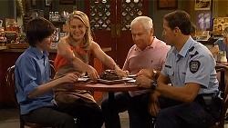 Bailey Turner, Lauren Turner, Lou Carpenter, Matt Turner in Neighbours Episode 6580
