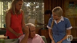 Lauren Turner, Lou Carpenter, Bailey Turner, Amber Turner in Neighbours Episode 6581