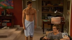 Rhys Lawson, Kyle Canning in Neighbours Episode 6581