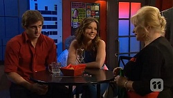 Kyle Canning, Jana Noviac, Sheila Canning in Neighbours Episode 6581