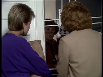Daphne Clarke, Mrs. York, Madge Bishop in Neighbours Episode 0282