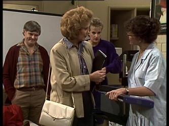 Tom Ramsay, Madge Bishop, Daphne Clarke, Jean Richards in Neighbours Episode 0283