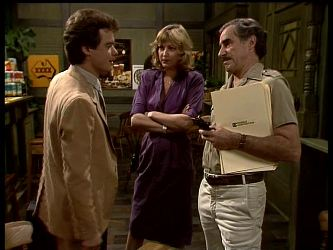 Paul Robinson, Andrea Townsend, Jack Lassiter in Neighbours Episode 0284