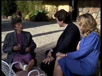 Nell Mangel, Paul Robinson, Debra Fleming in Neighbours Episode 0286