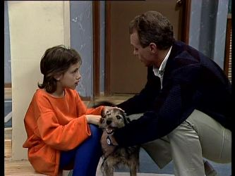 Lucy Robinson, Billy, Jim Robinson in Neighbours Episode 0287