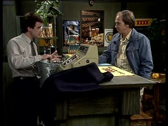 Paul Robinson, Fred Mitchell in Neighbours Episode 0287
