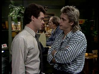 Paul Robinson, Fred Mitchell, Shane Ramsay in Neighbours Episode 0287