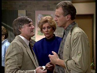 Tom Ramsay, Madge Bishop, Jim Robinson in Neighbours Episode 0287