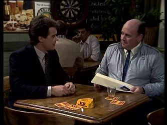 Paul Robinson, Brian King in Neighbours Episode 0287