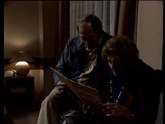 Fred Mitchell, Madge Bishop in Neighbours Episode 0288