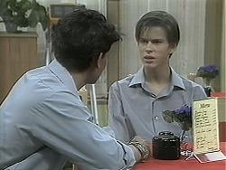 Josh Anderson, Todd Landers in Neighbours Episode 1136