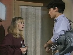 Melissa Jarrett, Josh Anderson in Neighbours Episode 1136