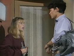 Melissa Jarrett, Josh Anderson in Neighbours Episode 1136