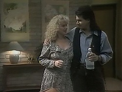 Sharon Davies, Karl in Neighbours Episode 1136