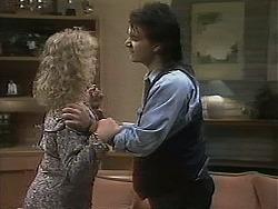 Sharon Davies, Karl in Neighbours Episode 1136