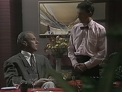 Jim Robinson, Karl in Neighbours Episode 1136