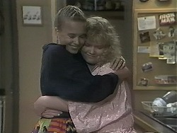 Bronwyn Davies, Sharon Davies in Neighbours Episode 1136
