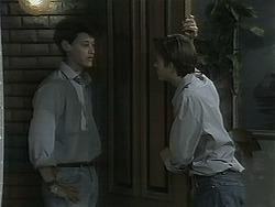 Josh Anderson, Todd Landers in Neighbours Episode 1137
