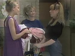 Bronwyn Davies, Sharon Davies, Melanie Pearson in Neighbours Episode 1137