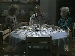 Beverly Marshall, Jim Robinson, Helen Daniels in Neighbours Episode 1137