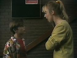 Todd Landers, Melissa Jarrett in Neighbours Episode 1137