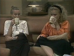 Bronwyn Davies, Sharon Davies in Neighbours Episode 1137