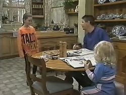 Lochy McLachlan, Joe Mangel, Sky Mangel in Neighbours Episode 1148