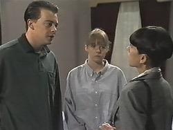 Matt Robinson, Lee Maloney, Hilary Robinson in Neighbours Episode 1148