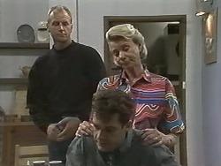 Jim Robinson, Paul Robinson, Helen Daniels in Neighbours Episode 1148
