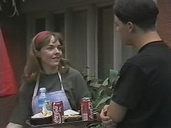 Lee Maloney, Matt Robinson in Neighbours Episode 1148