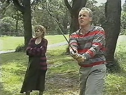 Beverly Marshall, Jim Robinson in Neighbours Episode 1148