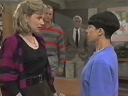 Beverly Marshall, Jim Robinson, Kenneth Muir, Hilary Robinson in Neighbours Episode 1148